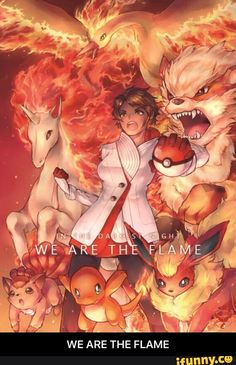 WE ARE THE FLAME
