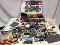 Lego Expert Builder Train Boat Cycle Wheels Building Books Parts Misc Piece Lot | eBay