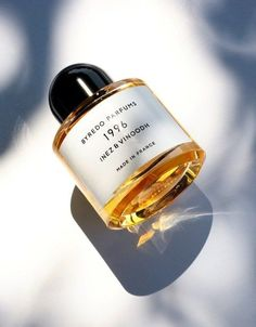 Byredo Parfums 1996. A fragrance for the art collector. Inspired by the photo ' Kirsten 1996' by Dutch duo Inez & Vinoodh (x), and created with the artists.