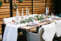 Photography : Gladys Jem Read More on SMP: http://www.stylemepretty.com/living/2015/12/24/nordic-holiday-inspiration/