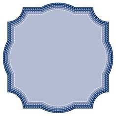Silhouette Design Store - View Design #122129: nested stitched fancy squares