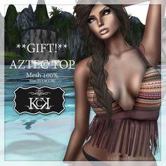 :::KC::: *GIFT* AZTEC Top