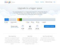 Google Drive - Additional storage