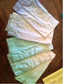 DIY napkins! Beach Weddings, Napkins, Diy, Do It Yourself, Towels, Bricolage, Dinner Napkins, Handyman Projects, Groom Beach Weddings