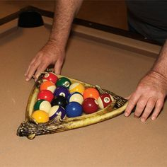 Deer Antler Pool Ball Rack 984 | Buffalo Trader Online
