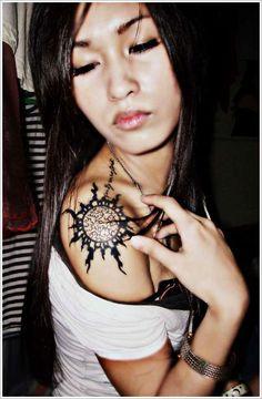 Sun Tattoo Designs: The Beautiful Sun Tattoo Designs And Meaning For Women On Sleeve ~ tattooeve.com Tattoo Design Inspiration