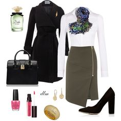 Black, created by dmiddleton on Polyvore