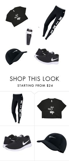 """""""Untitled #5"""" by jocelynn-politte ❤ liked on Polyvore featuring NIKE and Rupaul"""