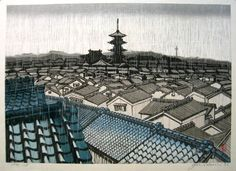 Sekino, Junichiro[Rain in To-ji temple,Kyoto]
