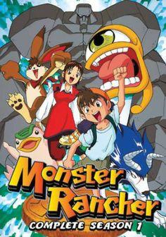 Monster Rancher DVD Complete Season 1 (D)