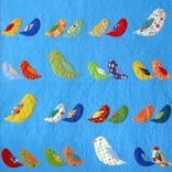Bird Crossing Quilt by Feed Dog Designs