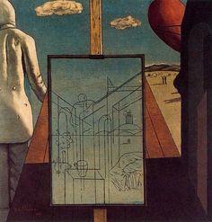 """Giorgio de Chirico . """" El sueño doble de la Primavera """", de 1915."""