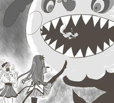 Madoka Magica Episode 3. :D