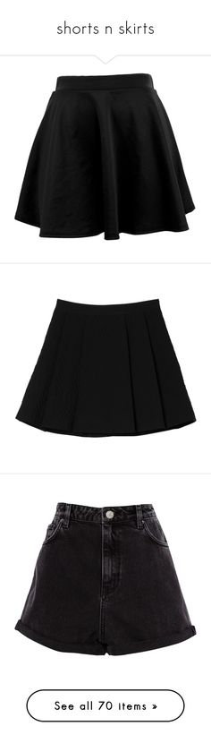 """shorts n skirts"" by wolfglam ❤ liked on Polyvore featuring skirts, bottoms, saias, faldas, tie-dye skirt, abstract skirt, clothes - skirts, black magic, zig zag skirt and wide skirt"