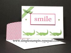 Zoo Babies....are...super cute babies!!! Stampin' Up!