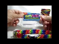 Loom Knit - Buckle Dog Collar Part 1.  From Charity Windham.