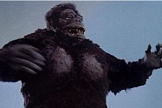 King Kong Appearances: King Kong vs. Godzilla  Kong arrived in Toho's Godzilla series with the benefit of instant name recognition. He's blown up to Godzilla's size and gains some other bizarre characteristics, chief among them an affinity for electricity . This is fairly easily explained by the fact that this film was originally intended to be King Kong vs. Frankenstein!