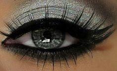 Silver Smokey eye! :)