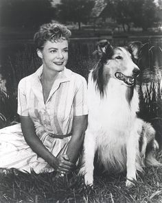"June Lockhart, Timmy's mom, Ruth Martin, in the 1950s-60s CBS series ""Lassie""; Maureen Robinson in another CBS show, the 1960s ""Lost in Space."""
