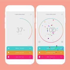 Get hydrated with this water-consumption app.