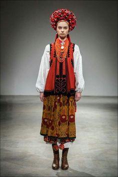 Ukrainian traditional costume, Poltava, Ukraine
