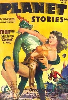 Planet Stories 1945