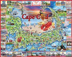 Jigsaw Puzzles - Cape Cod, MA