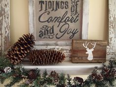Holiday House Tour 2014 ~ Natural Elements | Karen's Up On The Hill