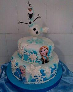 Torta Frozen Frozen, Desserts, Food, Party, Mickey Mouse Pancakes, Hipster Stuff, Tailgate Desserts, Deserts, Essen