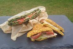 Opskrift til grøntsagsvafler til sandwich, toast eller pizzabund. Et sundt og spændende alternativ til en kedelig rugbrødsmad eller en flad toast. Prøv den.
