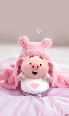 70 Ideas For Anime Art Cute Baby Animals - Best of Wallpapers for Andriod and ios Pig Wallpaper, Disney Wallpaper, Iphone Wallpaper, Pig Illustration, Illustrations, Cute Piglets, Pig Art, Baby Pigs, Little Pigs