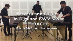 Toccata and Fugue J.S. Bach Marimba Trio - VAN3uard Percussion
