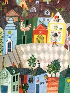Storybook illustrations - Marlenka Stupica