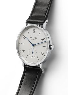 Tangente 38: A larger sized timepiece from NOMOS Glashütte, which can withstand the scrutiny of even the most discerning modern tastes and flatter more generously proportioned wrists.