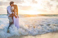 sexy beach wedding photos. trash the dress
