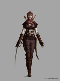ArtStation - Characters for personal project, Mohamed Abdelfatah