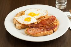 Toasties - Bacon and Egg