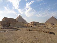 Chephren- und Cheops-Pyramide in 2016
