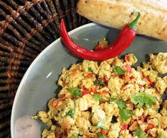 Akoori (Indisk scrambled eggs)