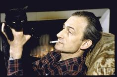 French artist Balthus, 1956 | Community Post: 24 Cat Dads From The Past