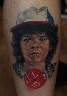 Stranger Things Dustin Tattoo