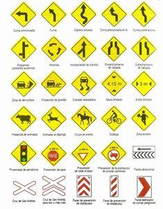 imagenes de señales de transito - Buscar con Google
