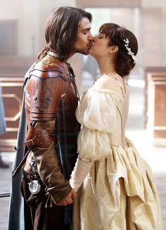 Luke Pasqualino & Tamla Kari in 'The Musketeers' (2014).