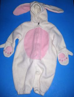 Costume Unisex Infant Bunny Suit Baby Gap XS Up To 3 Months Pram Style #BabyGap #CompleteOutfit