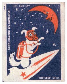 Recordando la flota de perras cosmonautas de la Rusia soviética | Broadly