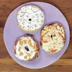 Doctor up basic cream cheese with tasty toppings and mix-ins for a new spin on your Sunday morning bagel routine.