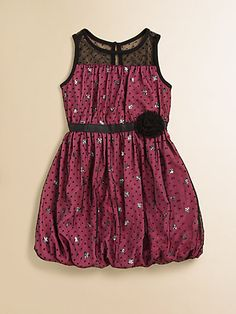 DKNY - Toddler's & Little Girl's Tulle Sequin Dress - Saks.com