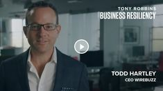 Right now, your website needs to be your best salesperson, and you can do that using the strategies that Todd Hartley, CEO of Wirebuzz, shares in this video. Lose Fat, Lose Weight, Weight Loss, Causes Of Diabetes, Your Website, Tony Robbins, Dream Life, How To Introduce Yourself, Personal Development