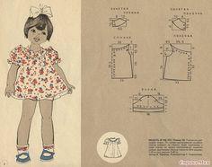 Diy idea how to make tutorial sew little girl t-shirt