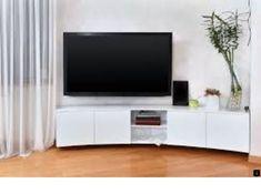 Large flat screen TV in modern interior living room Tv Wall Brackets, Tv Bracket, Big Screen Tv, Flat Screen, Tv Stand Room Divider, Swivel Tv Stand, Tv Installation, Plasma Tv, Tv Furniture